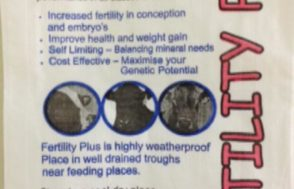 Fertility Plus vitamin & mineral supplement (20kg bag) | Beef Breeding Services
